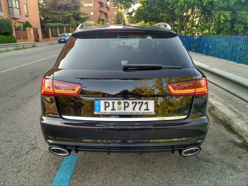 Audi A6 Allroad A6 Avant Atarius RS6 Conversion Style Bodykit