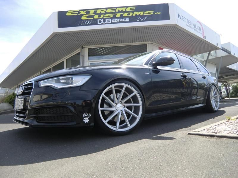 Audi A6 C7 Avant Vossen CVT Alu%E2%80%99s Extreme Customs Germany Tuning 1 Audi A6 C7 Avant auf Vossen CVT Alu's by Extreme Customs Germany