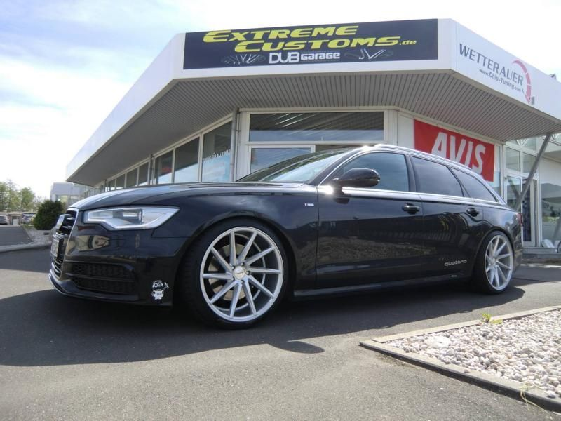 Audi A6 C7 Avant Vossen CVT Alu%E2%80%99s Extreme Customs Germany Tuning 2 Audi A6 C7 Avant auf Vossen CVT Alu's by Extreme Customs Germany