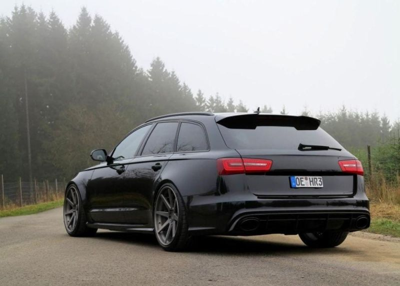 audi a6 c7 rs6 schwarz tuning 1 magazin. Black Bedroom Furniture Sets. Home Design Ideas