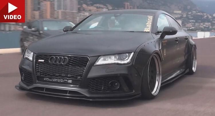 Audi A7 3.0 TDI Liberty Widebody Sportauspuffanlage Video: Audi A7 3.0 TDI mit Widebody & Sportauspuffanlage