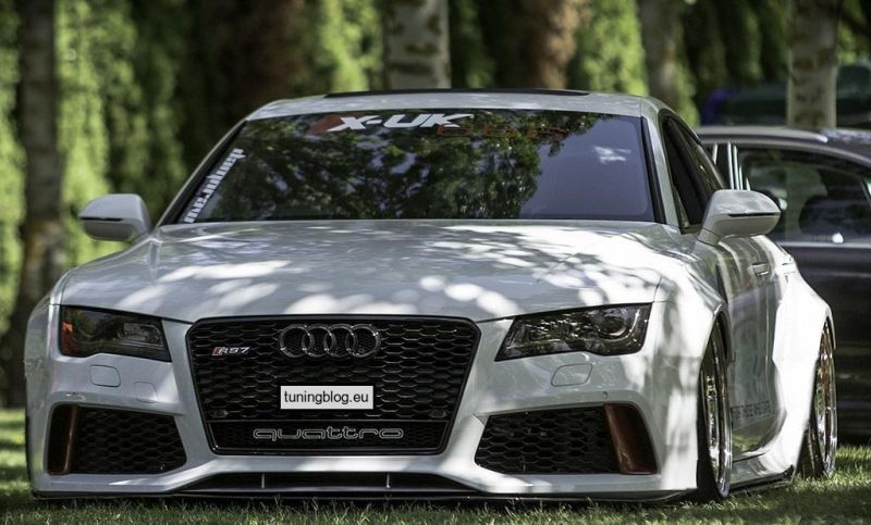 Audi A7 RS7 Widebody Kit tuningblog.eu 1 Audi A7 RS7 Liberty Walk Widebody Kit by tuningblog.eu