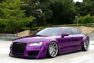 Audi A7 Sportback Widebody Tuningblog 4 190x127 Audi A7 Sportback Widebody in Mintgrün by Tuningblog.eu