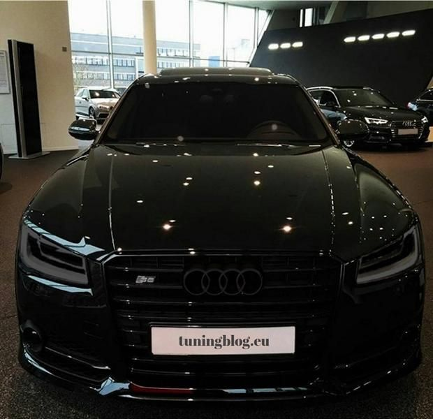 Audi A8 S8 black tuningblog.eu 1 Audi A8 S8 D4/4H Plus in Schwarz by tuningblog.eu