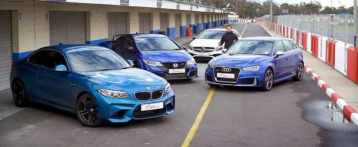 Audi RS3 BMW M2 F87 Honda Civic Type-R Mercedes-AMG A45 Testbericht tuning 1
