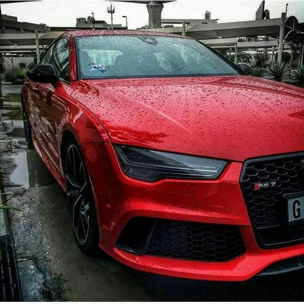Audi RS7 Sportback red tuningblog.eu  Tiefer Audi A7 RS7 Sportback in Rot von tuningblog.eu