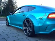 Audi RS7 Widebody mbDesign KV1 22 Prior Design PD700r Tuning 4 190x143 Audi RS7 Widebody auf mbDesign KV1 22 Zoll Alufelgen