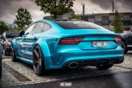 Audi RS7 Widebody mbDesign KV1 22 Prior Design PD700r Tuning 7 190x127 Audi RS7 Widebody auf mbDesign KV1 22 Zoll Alufelgen