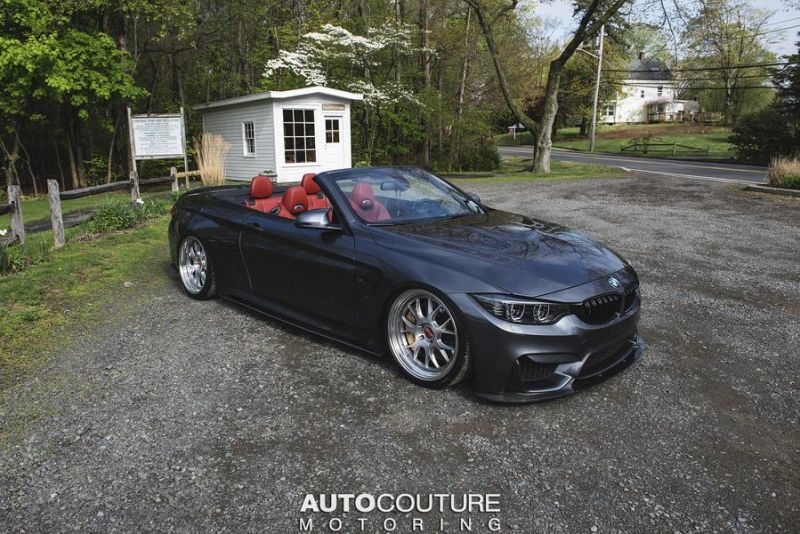 Autocouture Motoring BMW M4 F83 Cabrio BBS Carbon M Performance Tuning 1 Extrem dezent   Autocouture Motoring BMW M4 F83 Cabrio
