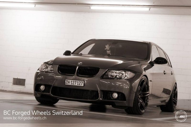 BMW 3er E91 Touring 19 Zoll BC Forged Wheels RZ09 Tuning 2 BMW 3er E91 Touring auf 19 Zoll BC Forged Wheels RZ09
