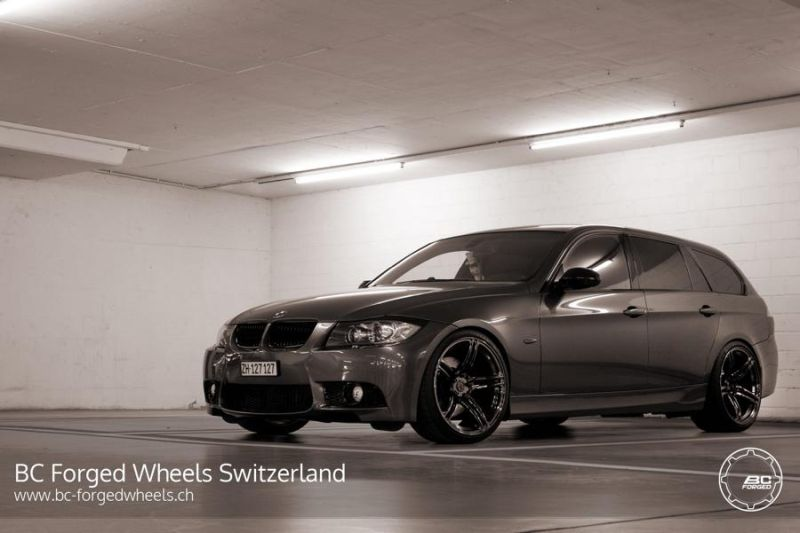BMW 3er E91 Touring 19 Zoll BC Forged Wheels RZ09 Tuning 3 BMW 3er E91 Touring auf 19 Zoll BC Forged Wheels RZ09