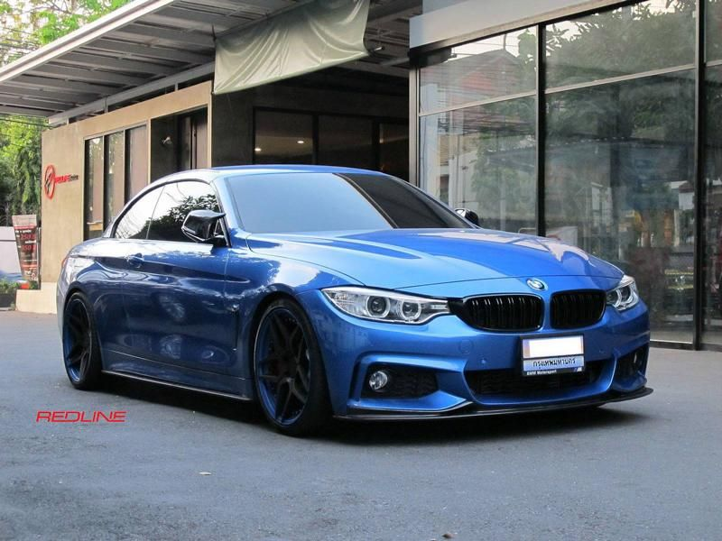 BMW 4er F32 Coupe 20 Zoll HC053 Redline Auto Thailand Tuning 10
