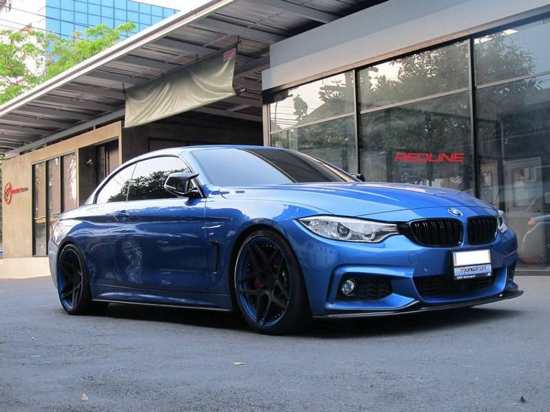BMW 4er F32 Coupe 20 Zoll HC053 Redline Auto Thailand Tuning 5