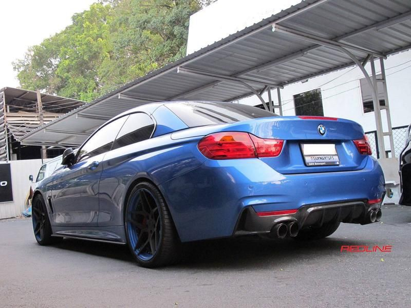 BMW 4er F32 Coupe 20 Zoll HC053 Redline Auto Thailand Tuning 8