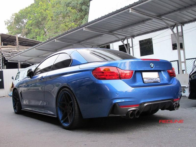 BMW 4er F32 Coupe 20 Zoll HC053 Redline Auto Thailand Tuning 9