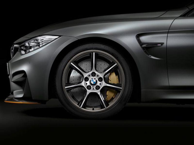 BMW M4 GTS Leichtbau nun auch durch Carbon Felgen 3 BMW M4 GTS: Leichtbau nun auch durch Carbon Felgen