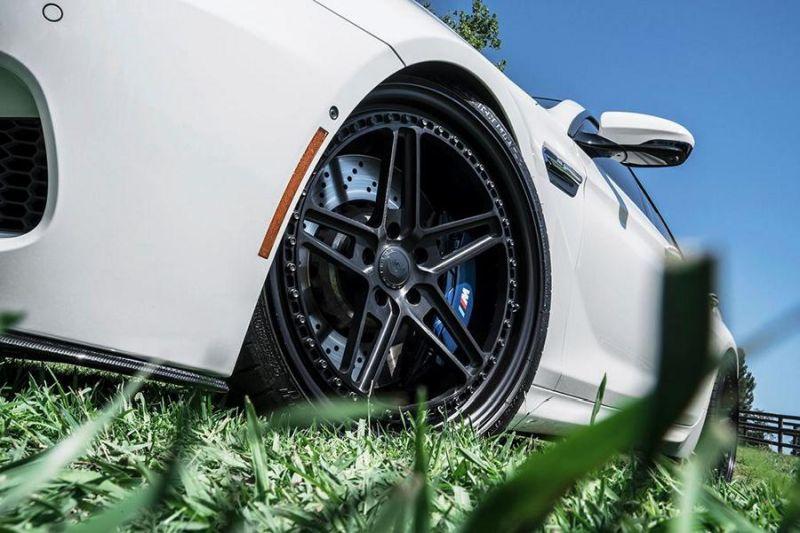 BMW M6 F13 Gran Coupe 21 Zoll Forgiato F Cinque Tuning 2 BMW M6 F13 Gran Coupe auf 21 Zoll Forgiato F Cinque Alu's