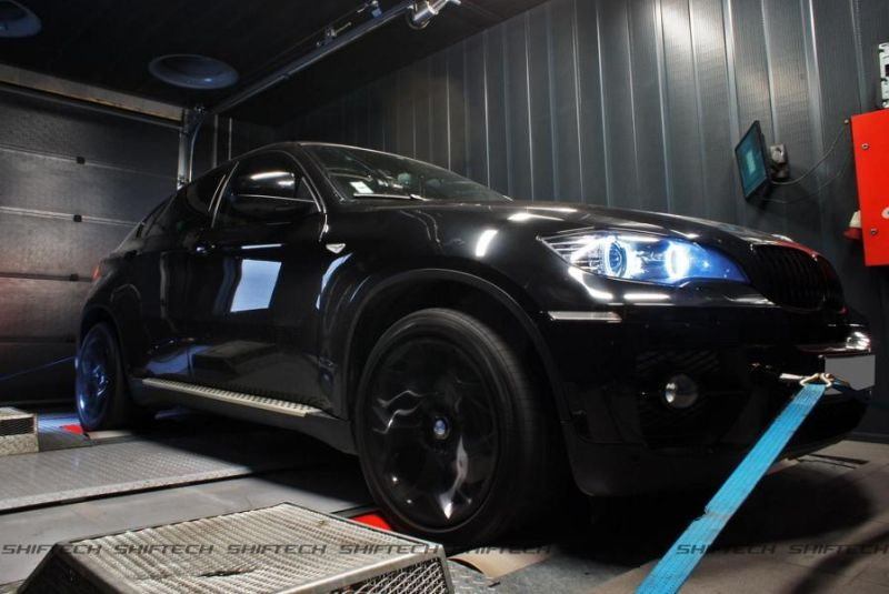 BMW X6 35D E71 Chiptuning 345PS 673NM Shiftech Lyon 1 BMW X6 35D mit 345PS & 673NM von Shiftech Lyon