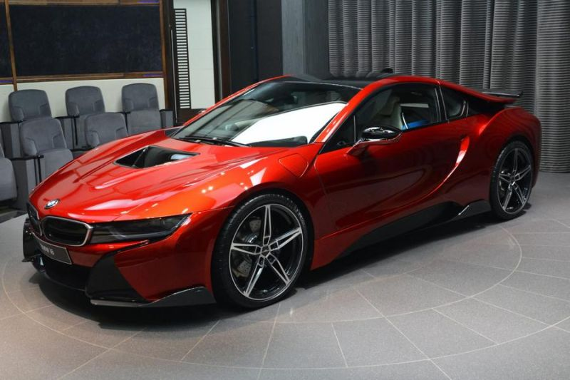 BMW i8 AC Schnitzer Lava Tuning Red