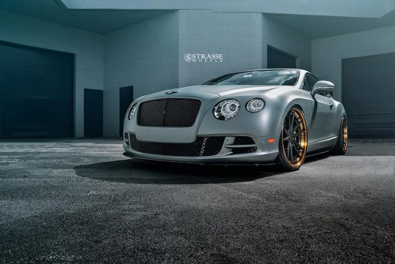 Bentley Continental GT Speed Strasse Wheels SV1 Alufelgen Tuning 1 Bentley Continental GT Speed auf Strasse Wheels Alufelgen