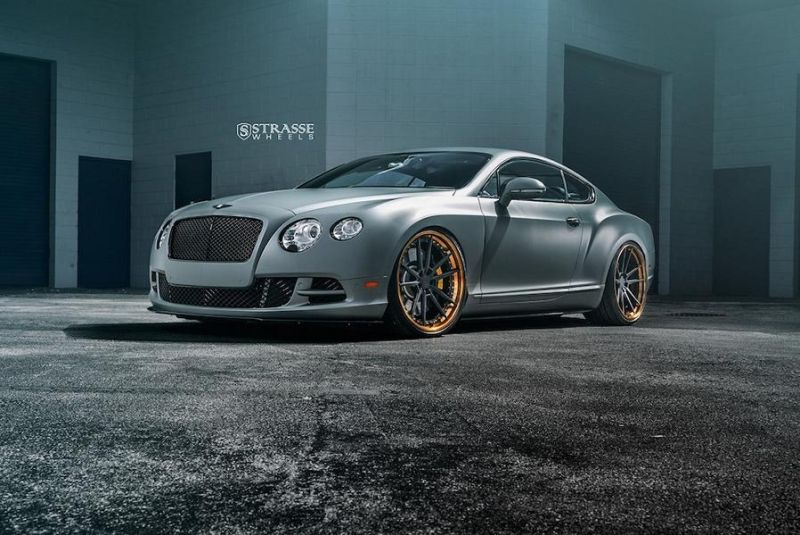 Bentley Continental GT Speed Strasse Wheels SV1 Alufelgen Tuning 2 Bentley Continental GT Speed auf Strasse Wheels Alufelgen