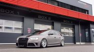 BlackBox Richter Audi RS4 B8 Avant Mattgrau Folierung Tuning 1 190x106 Mega Schick   BlackBox Richter Audi RS4 B8 Avant in Mattgrau