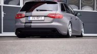 BlackBox Richter Audi RS4 B8 Avant Mattgrau Folierung Tuning 3 190x106 Mega Schick   BlackBox Richter Audi RS4 B8 Avant in Mattgrau