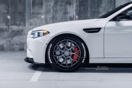 Brixton Forged CM8 21 Zoll BMW M5 F10 Tuning 10 190x127 HAMMER   Brixton Forged CM8 in 21 Zoll am BMW M5 F10 in Weiß