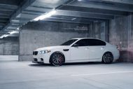 Brixton Forged CM8 21 Zoll BMW M5 F10 Tuning 12 190x127 HAMMER   Brixton Forged CM8 in 21 Zoll am BMW M5 F10 in Weiß