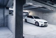 Brixton Forged CM8 21 Zoll BMW M5 F10 Tuning 4 190x127 HAMMER   Brixton Forged CM8 in 21 Zoll am BMW M5 F10 in Weiß