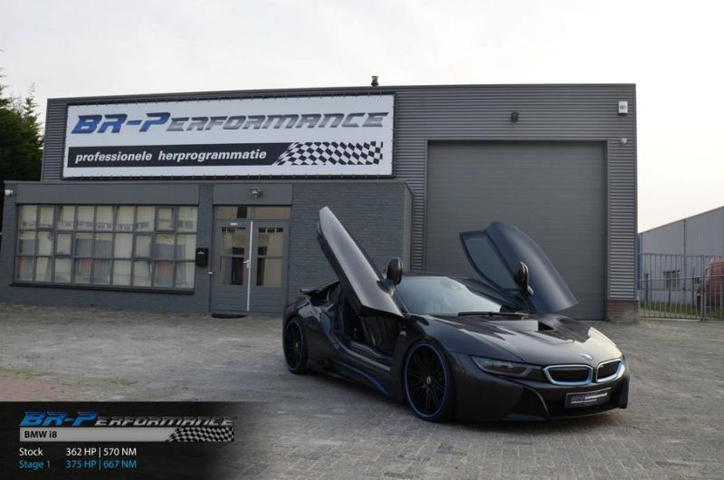 Chiptuning 375PS & 667NM BR-Performance BMW i8 AC Schnitzer 5