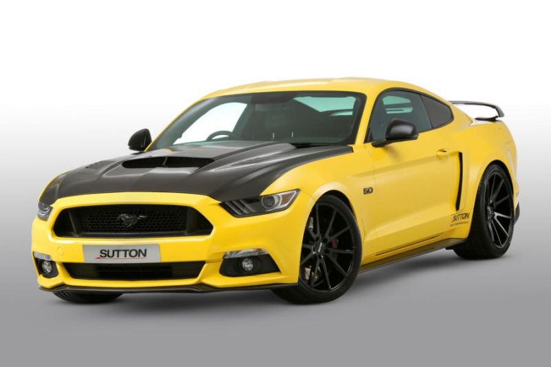 Clive Sutton Ford Mustang GT CS700 700PS Carbon Bodykit Tuning 2 Clive Sutton Ford Mustang GT CS700 mit 700PS & Carbon Bodykit
