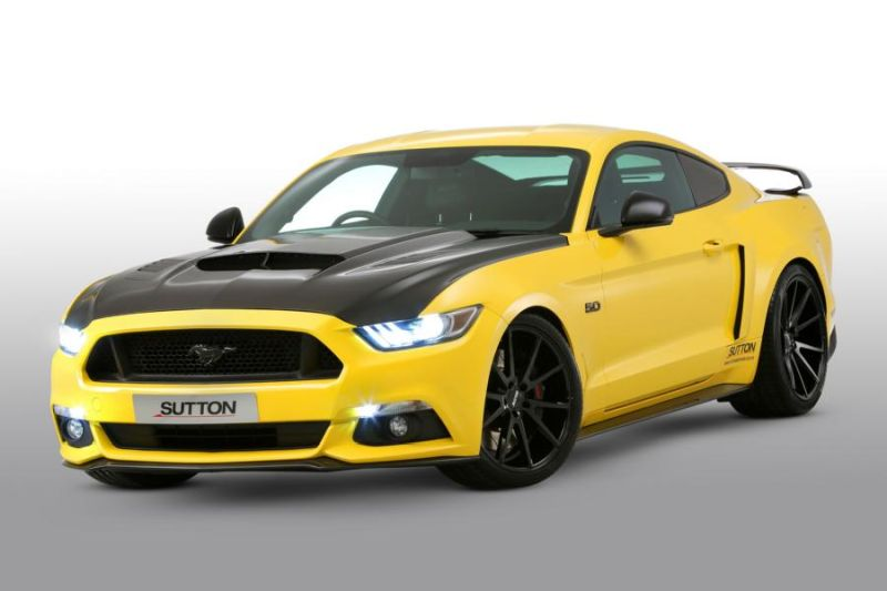 Clive Sutton Ford Mustang GT CS700 700PS Carbon Bodykit Tuning 3 Clive Sutton Ford Mustang GT CS700 mit 700PS & Carbon Bodykit