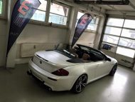 Diamond White BMW M6 E63 Cabrio 2M Designs Folierung 1 190x143 Diamond White BMW M6 E63 Cabrio von 2M Designs