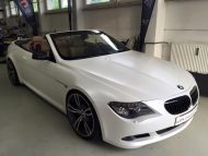 Diamond White BMW M6 E63 Cabrio 2M Designs Folierung 5 190x143 Diamond White BMW M6 E63 Cabrio von 2M Designs