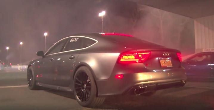 Dragerace HRE FF15 Audi RS7 vs BMW M4 F82 Coupe Video: Dragerace   Audi RS7 gegen BMW M4 F82 Coupe
