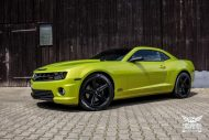 Electric Lime Green Chevrolet Camaro SS SchwabenFolia Tuning 1 190x127 Electric Lime Green Chevrolet Camaro SS by SchwabenFolia