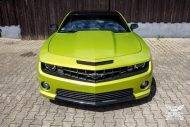 Electric Lime Green Chevrolet Camaro SS SchwabenFolia Tuning 10 190x127 Electric Lime Green Chevrolet Camaro SS by SchwabenFolia
