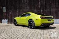 Electric Lime Green Chevrolet Camaro SS SchwabenFolia Tuning 3 190x127 Electric Lime Green Chevrolet Camaro SS by SchwabenFolia