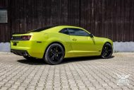 Electric Lime Green Chevrolet Camaro SS SchwabenFolia Tuning 5 190x127 Electric Lime Green Chevrolet Camaro SS by SchwabenFolia