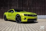 Electric Lime Green Chevrolet Camaro SS SchwabenFolia Tuning 7 190x127 Electric Lime Green Chevrolet Camaro SS by SchwabenFolia
