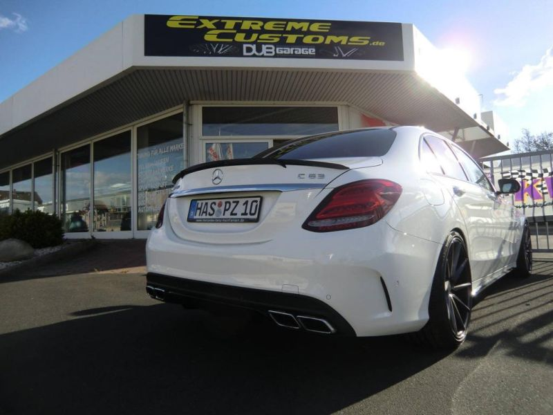 Extreme Customs Germany Mercedes AMG C63 20 Zoll Tuning 4