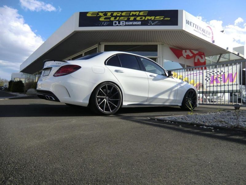Extreme Customs Germany Mercedes AMG C63 20 Zoll Tuning 5