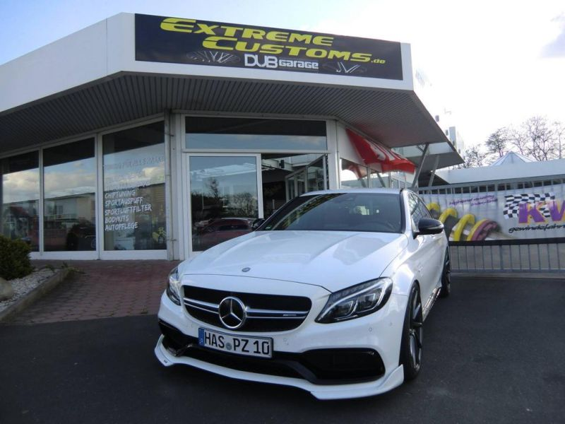 Extreme Customs Germany Mercedes AMG C63 20 Zoll Tuning 7