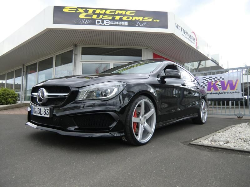 Extreme Customs Germany Mercedes CLA45 AMG CV3 R Tuning 1 Extreme Customs Germany Mercedes CLA45 AMG auf CV3 R Alu's
