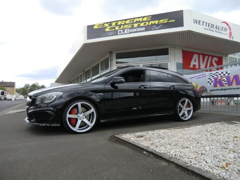 Extreme Customs Germany Mercedes CLA45 AMG CV3 R Tuning 2 Extreme Customs Germany Mercedes CLA45 AMG auf CV3 R Alu's