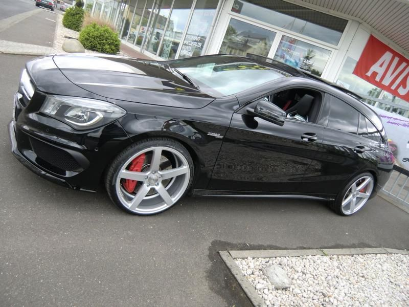 Extreme Customs Germany Mercedes CLA45 AMG CV3 R Tuning 3 Extreme Customs Germany Mercedes CLA45 AMG auf CV3 R Alu's