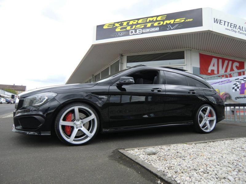 Extreme Customs Germany Mercedes CLA45 AMG CV3 R Tuning 4 Extreme Customs Germany Mercedes CLA45 AMG auf CV3 R Alu's