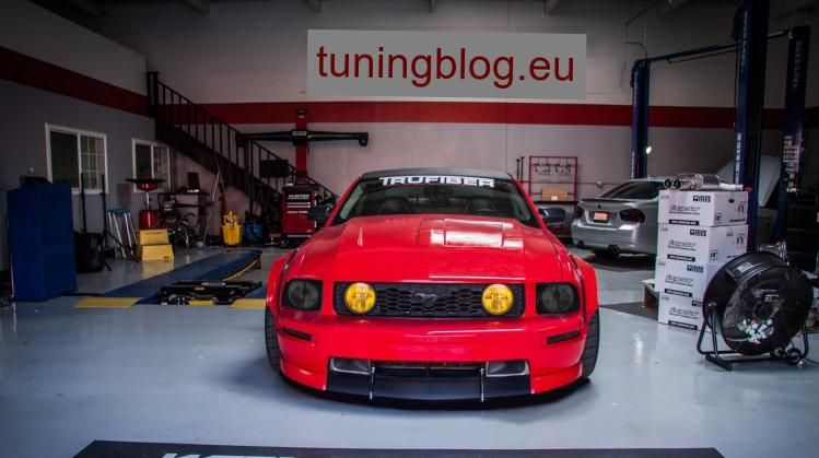 Ford Mustang Black Eyes Widebody tuningblog.eu  1 Ford Mustang Black Eyes Widebody by tuningblog.eu