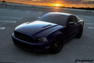 Forgestar CF10 KW V3 Coilovers Hotchkis tuning Ford Mustang GT S197 modbargains 7 190x127 Fotostory   Widebody Ford Mustang GT by ModBargains